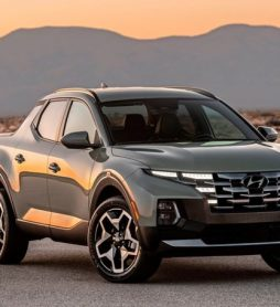 Hyundai представил новый пикап Santa Cruz на базе Tucson