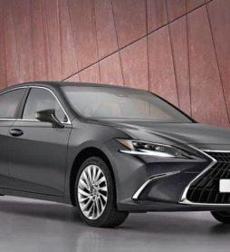 Мировая премьера обновленного бизнес-седана Lexus ES