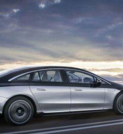 Daimler презентовал электрический седан Mercedes-Benz